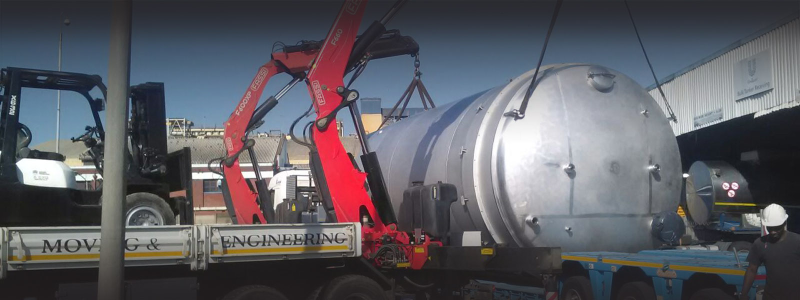 Equipment Moving South africa