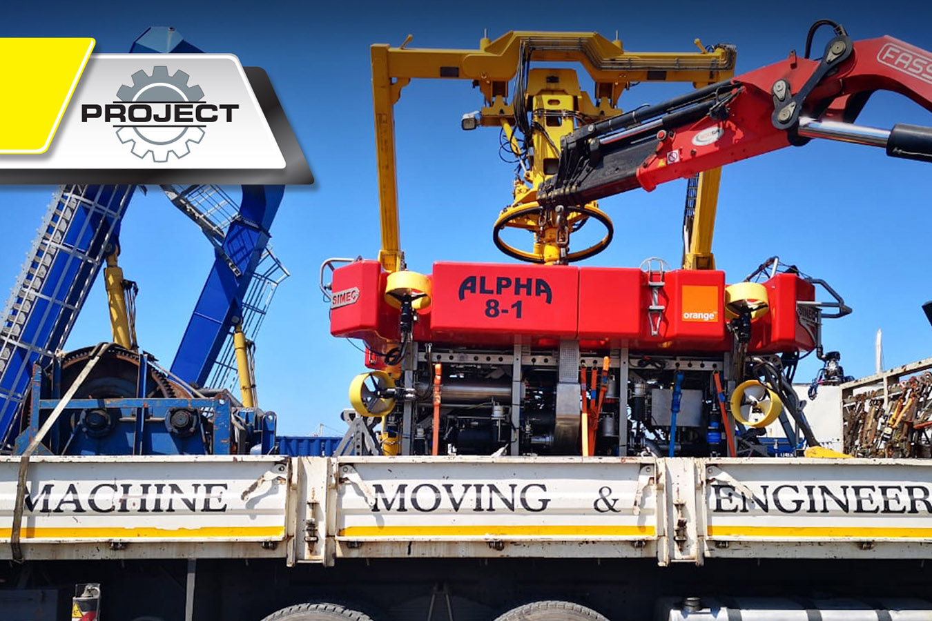 loading an rov mme-projects-mme-Machine-Moving-Engineering-machinery-equipment-Gauteng-KwaZulu-Natal-south-africa