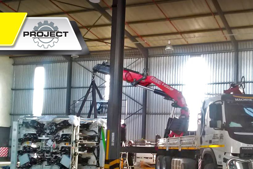 Equipment Moving South Africa | Equipment Installation