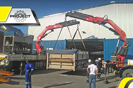 Machine Moving South Africa