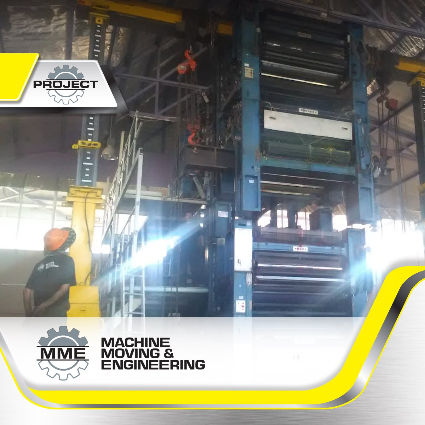 Machinery Installation Projects